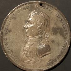 Nelson Crimson Oakes Commemorative medal - 1808