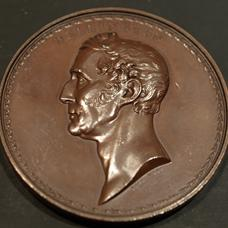 Wellington bronze commemorative  medallion
